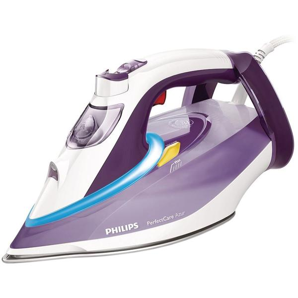 Fier de calcat Philips PerfectCare Azur GC4928/30, 3000 W, 0.35 l, 210 g/min, White/Purple