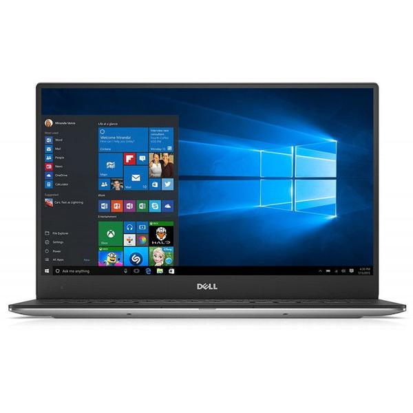 Laptop Dell XPS 13 (9360), QHD+, Intel Core i7-8550U, 8 GB, 256 GB SSD, Microsoft Windows 10 Pro, Argintiu