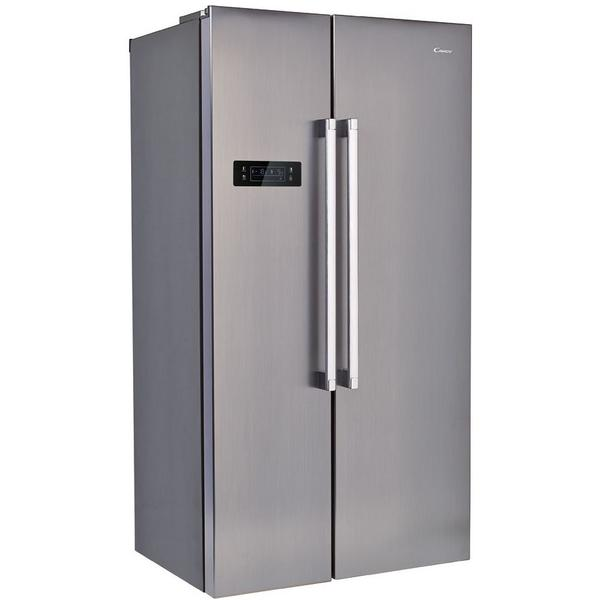 Side by side Candy CXSN172IXH, 503 l, Clasa A+, Inox