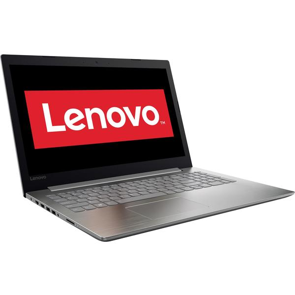 Laptop Lenovo IdeaPad 320 ISK, Intel Core i3-6006U, 4 GB, 500 GB, Free DOS, Gri