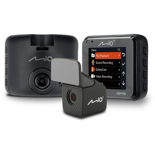 Camera auto Mio MiVueC380D, Full HD, 2 inch, Negru