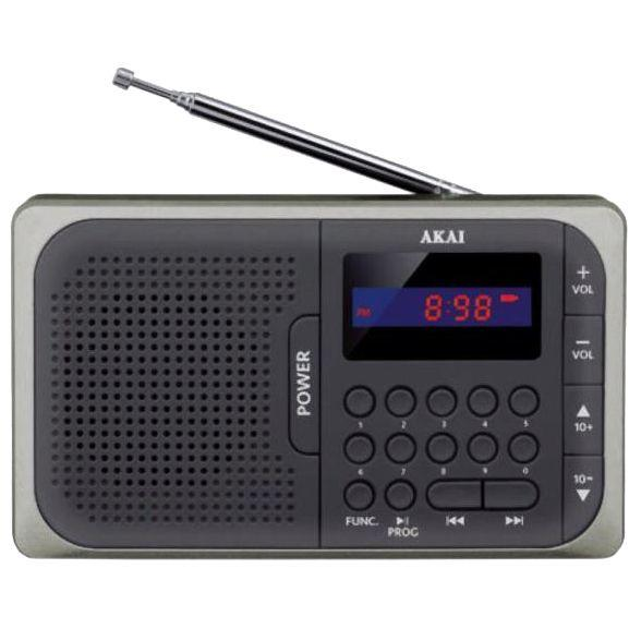 APR-210, Receiver FM, Display rosu, Negru