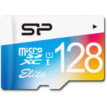 Card de memorie Silicon Power SP128GBSTXBU1V20SP, Micro SDHC, 128 GB, Clasa 10 + Adaptor SD