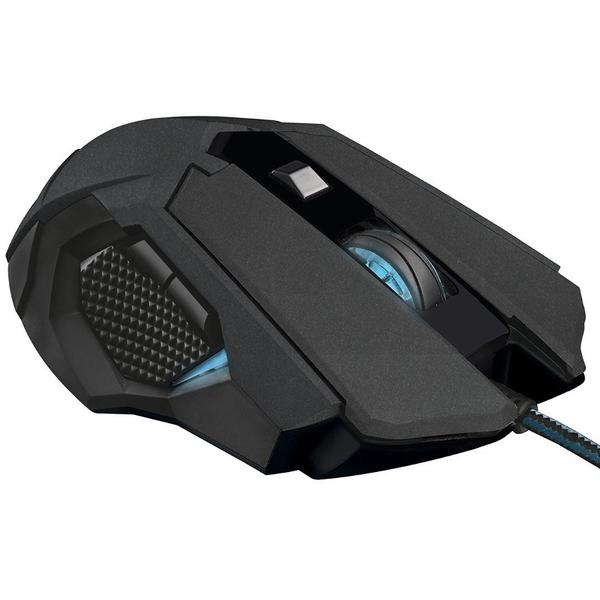 Mouse Trust GXT 158, Wired, 8 butoane, Negru
