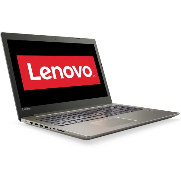 Laptop Lenovo IdeaPad 520 IKB, Intel Core i3-7100U, 4 GB, 1 TB, Free DOS, Gri