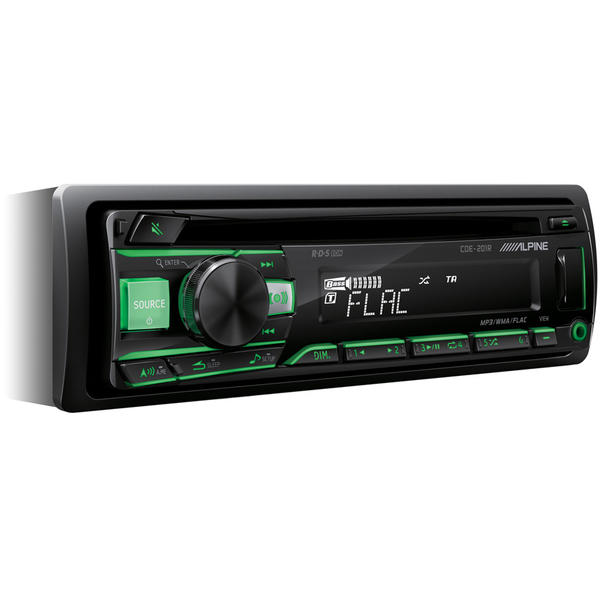 Player auto Alpine CDE-201R, 4 x 50 W, USB, AUX
