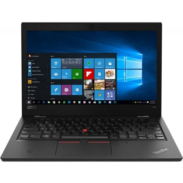 Laptop Lenovo Ultraportabil ThinkPad L380, Intel® Core™ i5-8250U pana la 3.40 GHz, Kaby Lake R, 13.3 inch, Full HD, IPS, 8GB, 256GB SSD, Intel® UHD Graphics 620, Microsoft Windows 10 Pro, BlackPro, Black