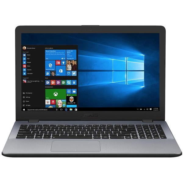 Laptop Asus X542UA-DM444R, Intel® Core™ i3-7100U 2.40 GHz, Kaby Lake, 15.6 inch, Full HD, 4GB, 500GB, DVD-RW, Intel HD Graphics 620, Microsoft Windows 10 Pro, Grey