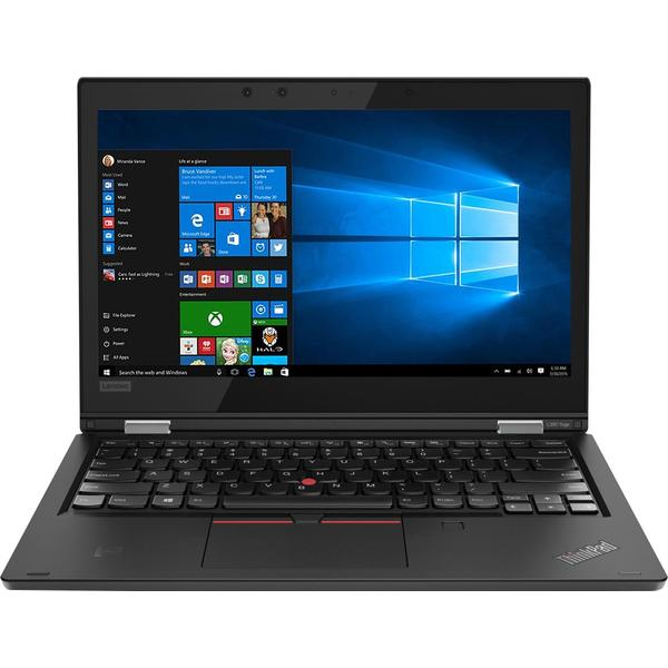 "Laptop Lenovo 2 in 1 ThinkPad L380 Yoga cu procesor Intel® Core™ i5-8250U pana la 3.40 GHz, Kaby Lake R, 13.3"", Full HD, IPS, Touch, 8GB, 256GB M.2 SSD, Intel® UHD Graphics 620, Microsoft Windows 10 Pro, Black"