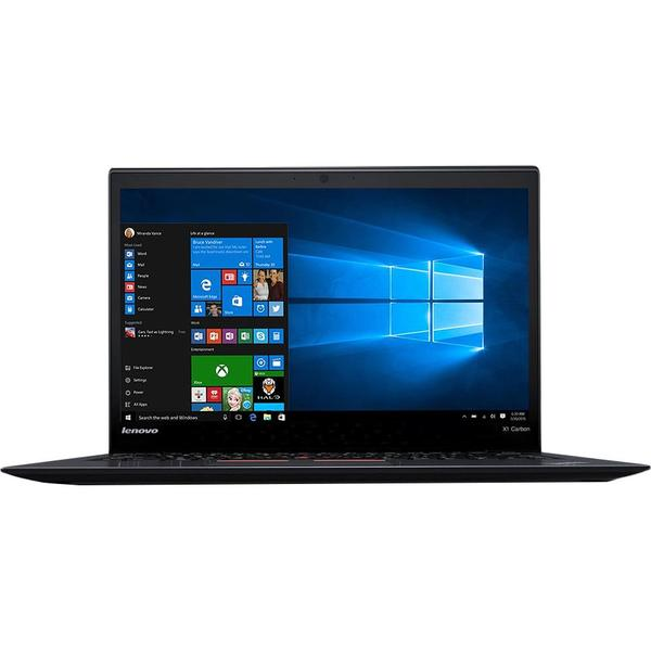 Laptop Lenovo ThinkPad X1 Carbon 3, WQHD IPS, Intel Core i7-8550U, 16 GB, 1TB SSD, Microsoft Windows 10 Pro, Negru