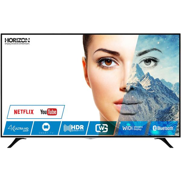 Televizor 65HL8530U, Smart TV, 164 cm, 4K UHD, Negru + Boxa tower Horizon HAV-M5310, 100 W