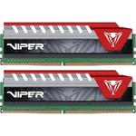 Memorie Patriot Viper Elite Red, 16 GB, DDR4, 2400 MHz, Dual Channel Kit