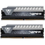 Memorie Patriot Viper Elite Grey, 16 GB, DDR4, 2666 MHz, Dual...