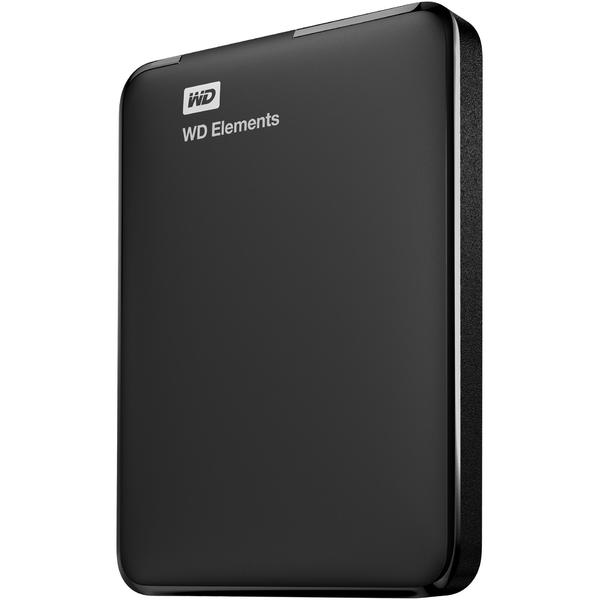 Hard Disk extern WD Elements Portable, 1 TB, 2.5 inch, USB 3.0, Negru