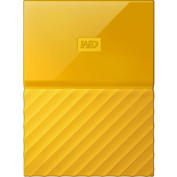 Hard Disk extern WD My Passport New, 4 TB, 2.5 inch, USB 3.0, Galben