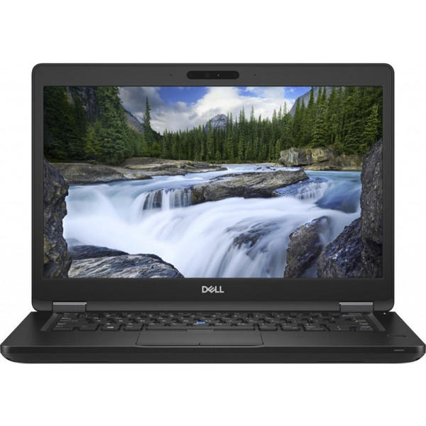 Laptop Dell Latitude 5490 (seria 5000), FHD, Intel Core i7-8650U, 16 GB, 256 GB SSD, Microsoft Windows 10 Pro, Negru