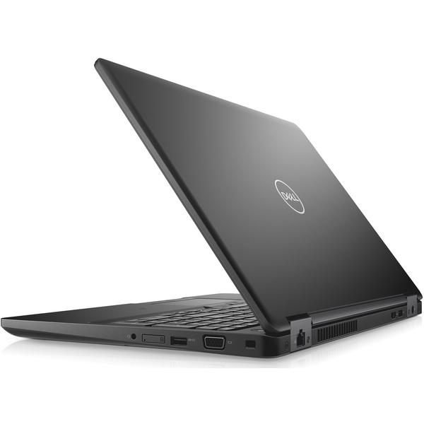 Laptop Dell Latitude 5590 (seria 5000), FHD, Intel Core i5-8350U, 8 GB, 500 GB, Linux, Negru