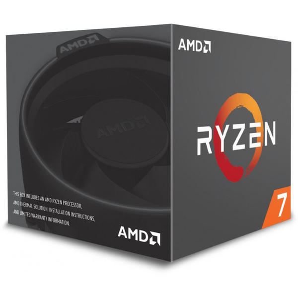 Procesor AMD Pinnacle Ridge, Ryzen 7 2700, 3.2 GHz, Socket AM4