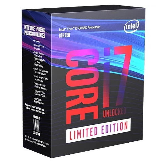 Procesor Intel Coffee Lake, Core i7 8086K, 4.0 GHz, Socket 1151 v2