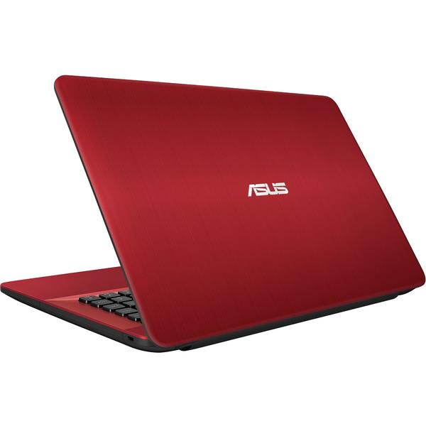 Laptop Asus X541UA-DM1360, Intel® Core™ i3-7100U 2.40 GHz, Kaby Lake, 15.6 inch, Full HD, 4GB, 1TB, DVD-RW, Intel® HD graphics 620, Endless OS, Rosu
