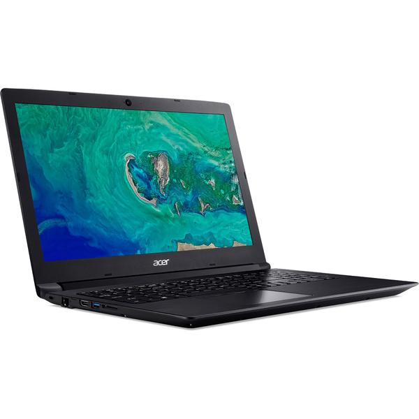 Laptop Acer Aspire 3 A315-53G, HD, Intel Core i3-7020U, 4 GB, 500 GB, Linux, Negru
