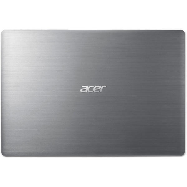 Laptop Acer Swift 3 SF314-52G, FHD, Intel Core i5-7200U, 8 GB, 256 GB SSD, Linux, Argintiu