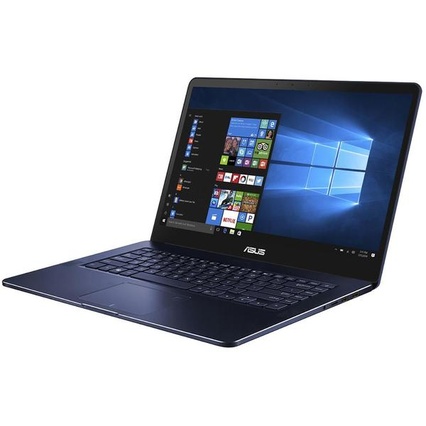 Laptop Asus ZenBook Pro UX550GE, FHD, Intel Core i5-8300H, 8 GB, 512 GB SSD, Microsoft Windows 10 Home, Albastru