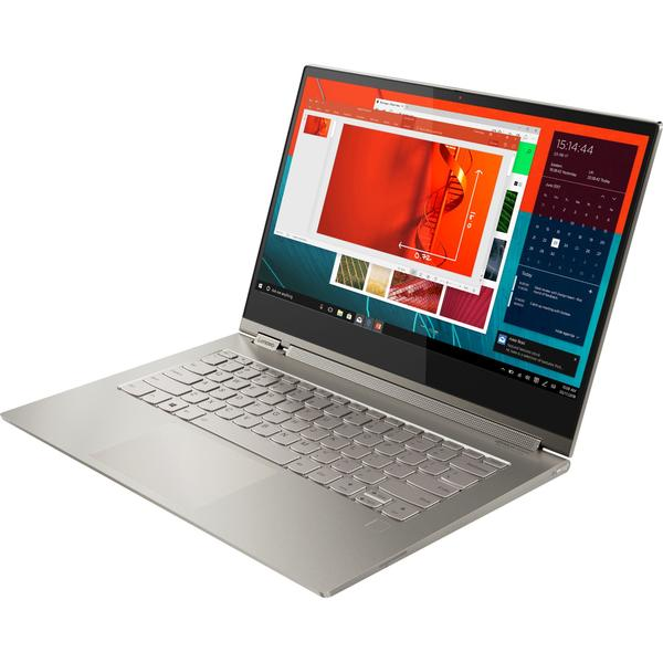 Laptop Lenovo Yoga C930-13IKB, Intel Core i5-8250U, 8 GB, 512 GB SSD, Microsoft Windows 10 Home, Argintiu