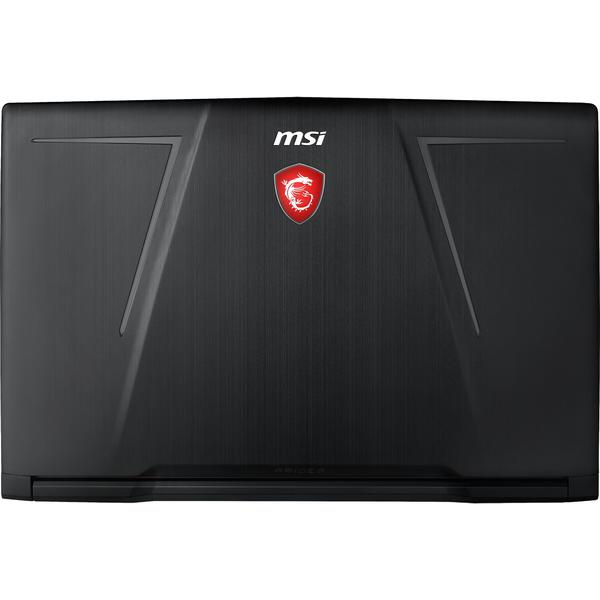 Laptop MSI GE73 Raider 8RE, FHD, Intel Core i7-8750H, 16 GB, 1 TB + 128 GB SSD, Free DOS, Negru