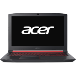 Laptop Acer Nitro 5 AN515-52-5670, Intel Core i5-8300H, 8 GB, 1 TB + 256 GB SSD, Linux, Negru