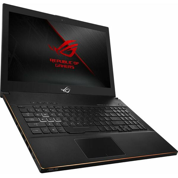 Laptop Asus ROG New ZEPHYRUS M (GM501GS), Intel Core i7-8750H, 16 GB, 1 TB + 256 GB SSD, Microsoft Windows 10 Home, Negru