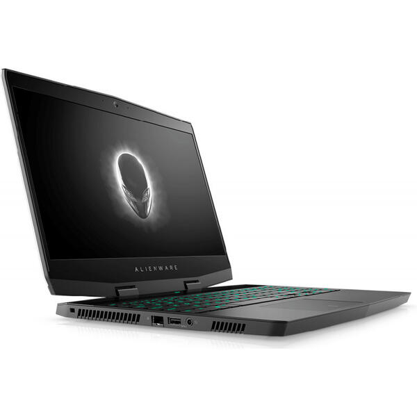 Laptop Dell Alienware M15, Intel Core i7-8750H, 16 GB, 1 TB + 512 GB SSD, Microsoft Windows 10 Pro, Negru / Rosu