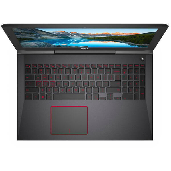 Laptop Dell G5 5587, Intel Core i7-8750H, 8 GB, 1 TB + 128 GB SSD, Microsoft Windows 10 Home, Negru