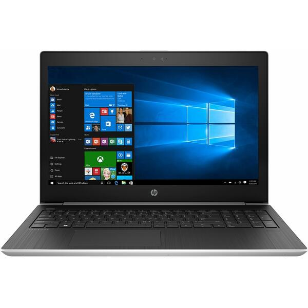 Laptop HP ProBook 450 G5, Intel Core i7-8550U, 8 GB, 1 TB, Microsoft Windows 10 Pro, Argintiu