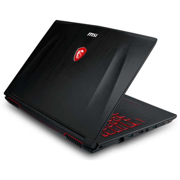 Laptop MSI GF62 8RD, Intel Core i7-8750H, 8 GB, 1 TB, Free DOS, Negru