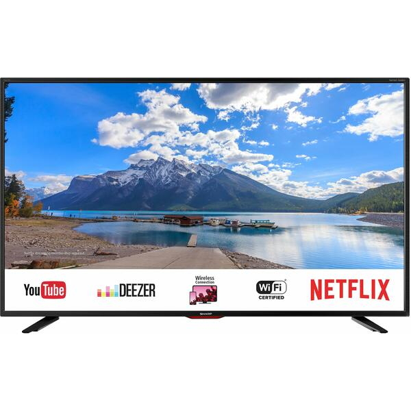 Televizor Sharp LC-55UI7552E, Smart TV, 139 cm, 4K UHD, Negru