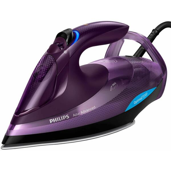 Fier de calcat Philips GC4934/30, 3000 W, Talpa SteamGlide Plus, Mov