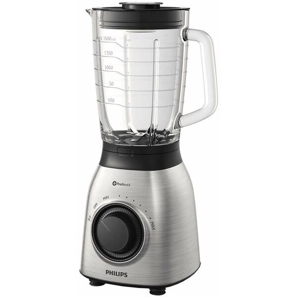 Blender Philips Viva HR3556/00, 700 W, 2 l, Inox