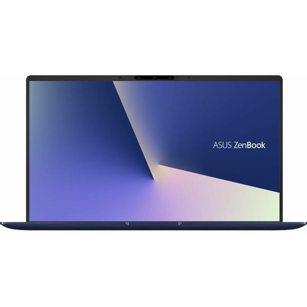 Laptop Asus ZenBook 13 UX333FA, FHD, Intel Core i7-8565U, 8 GB, 1 TB SSD, Microsoft Windows 10 Pro, Albastru