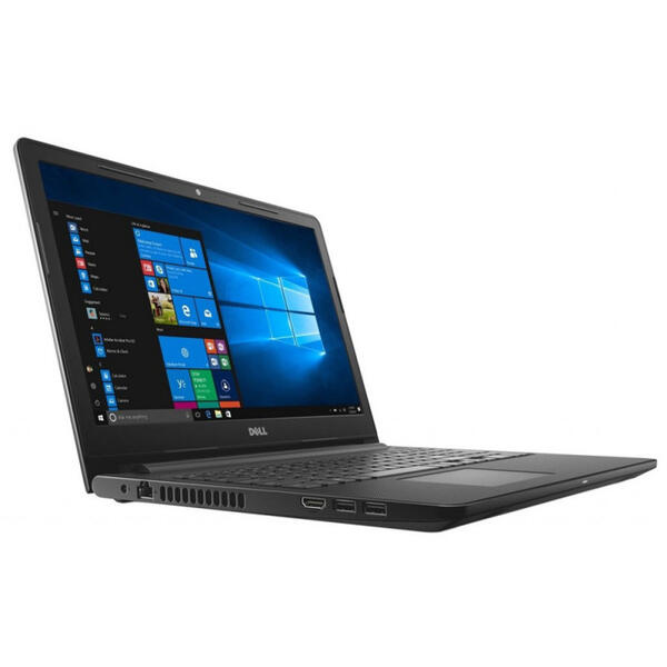 Laptop Dell Inspiron 3576 (seria 3000), FHD, Intel Core i3-7020U, 4 GB, 1 TB, Microsoft Windows 10 Home, Negru