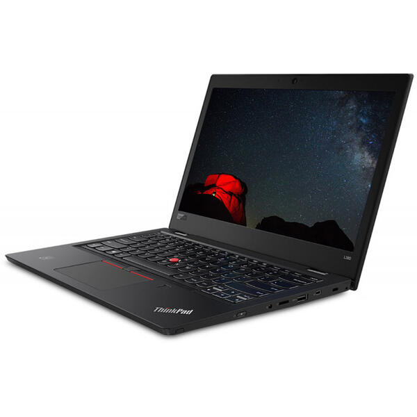 Laptop Lenovo ThinkPad L380, FHD IPS, Intel Core i7-8550U, 8 GB, 512 GB SSD, Microsoft Windows 10 Pro, Negru