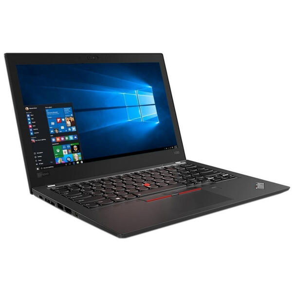 Laptop Lenovo ThinkPad X280, FHD IPS, Intel Core i5-8250U, 8 GB, 256 GB SSD, Microsoft Windows 10 Pro, Negru