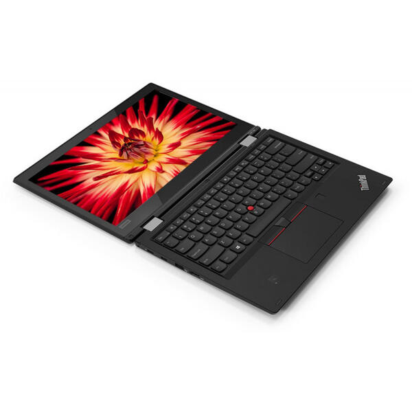 Laptop Lenovo ThinkPad L380 Yoga, FHD IPS Touch, Intel Core i3-8130U, 8 GB, 256 GB SSD, Microsoft Windows 10 Pro, Negru