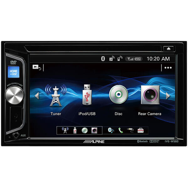 Sistem multimedia auto Alpine IVE-W560BT, 6.2 inch, 4 x 50 W, Bluetooth