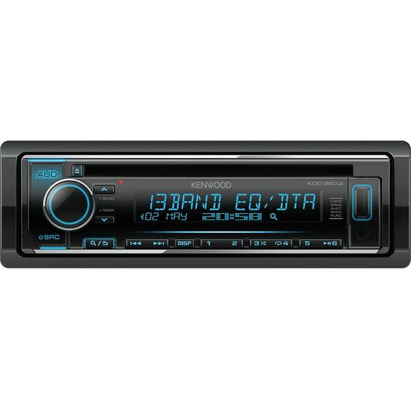 Player auto Kenwood KDC-320UI, 4 x 50 W, USB, AUX