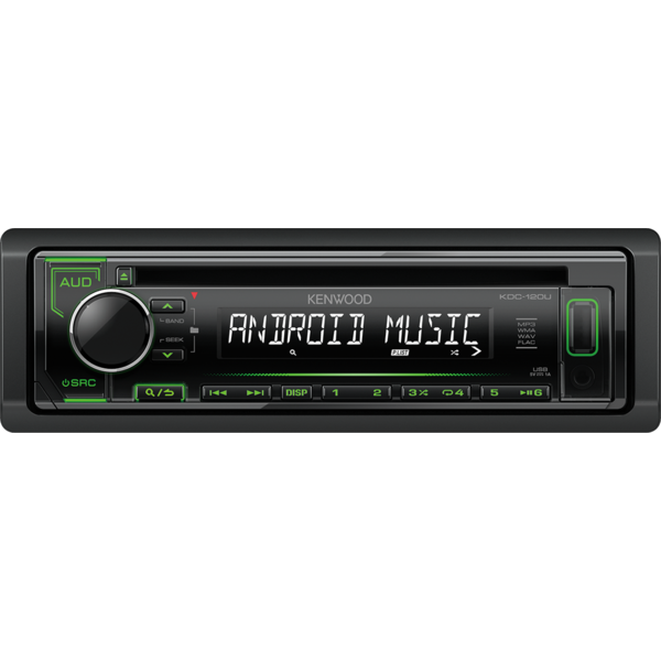 Player auto Kenwood KDC-120UG, 4 x 50 W, USB, AUX