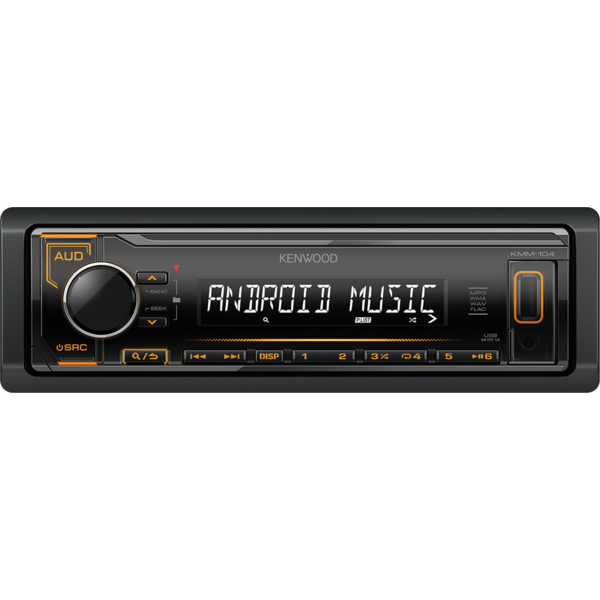 Player auto Kenwood KMM-104AY, 4 x 50 W, USB, AUX