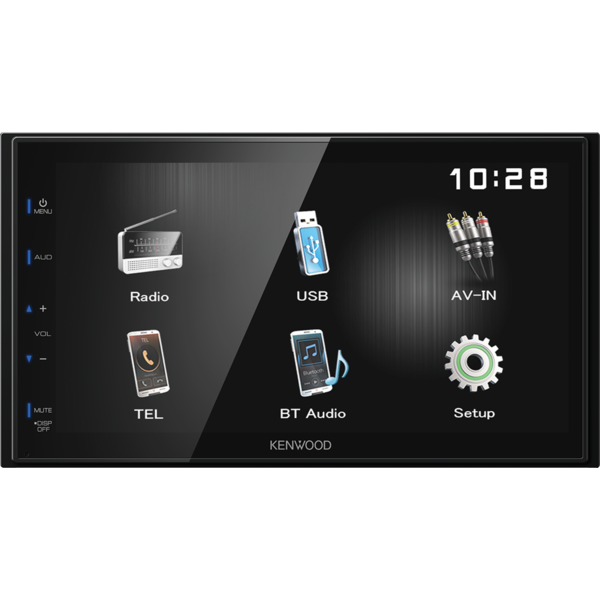 Sistem multimedia auto Kenwood DMX-110BT, 6.8 inch, 4 x 50 W, Bluetooth
