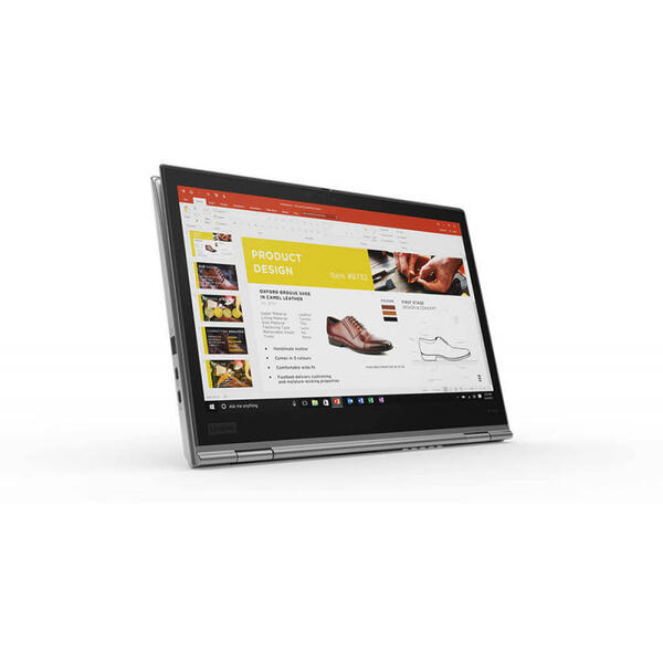 Laptop Lenovo ThinkPad X1 Yoga (3nd Gen), WQHD IPS Touch, Intel Core i5-8250U, 8 GB, 512 GB SSD, Microsoft Windows 10 Pro, Argintiu