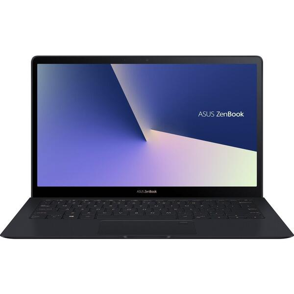 Laptop Asus ZenBook S UX391FA, FHD, Intel Core i5-8265U, 8 GB, 256 GB SSD, Microsoft Windows 10 Pro, Negru